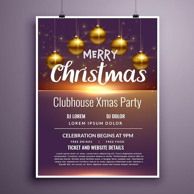 Elegante diseño de plantilla de invitación de flyer fiesta de ...