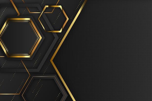 Elegante diseño de formas geométricas de fondo vector gratuito