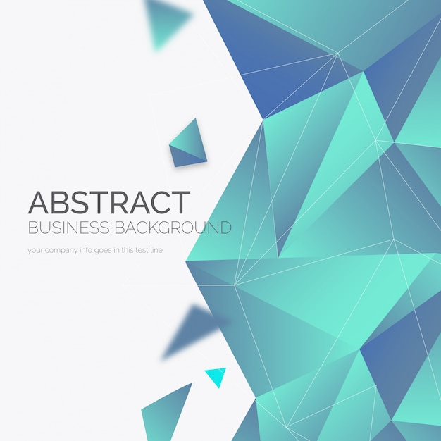 Elegante fondo abstracto de negocios Vector Gratis