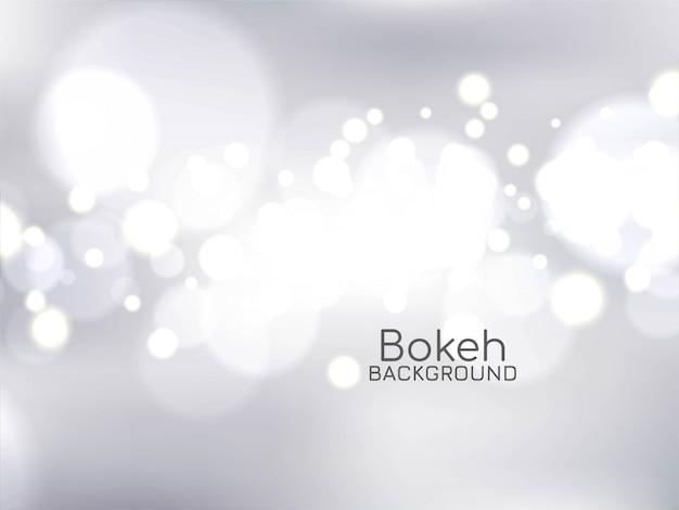 Elegante fondo con efecto de luz bokeh vector gratuito