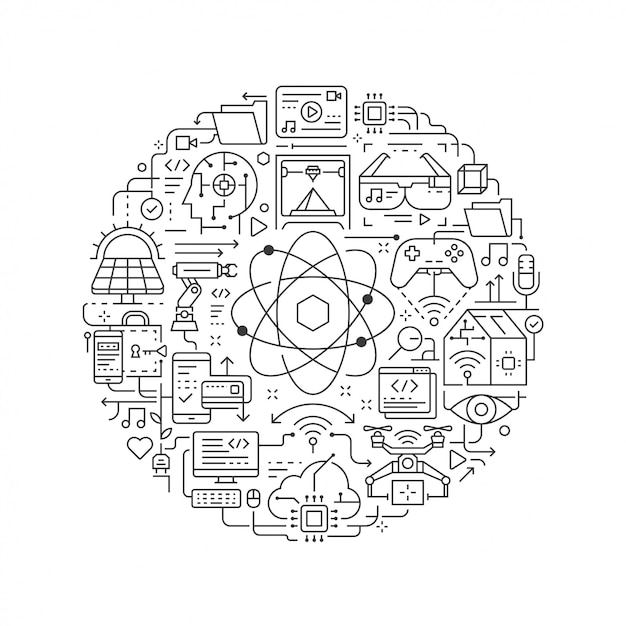 icono inteligencia artificial tecnología png