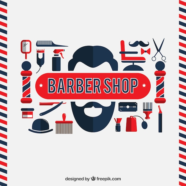 for download barber shop flat design 626 626 flats shops php angel ...