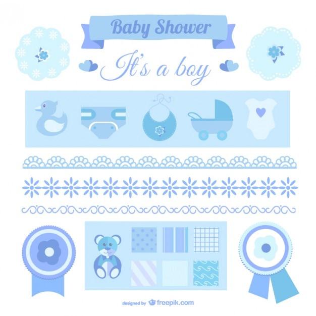 Elementos de diseños de bebé niño  26488609571a