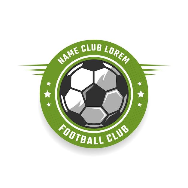 Emblema del club de fútbol Vector Premium