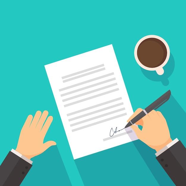Contrato firmado.