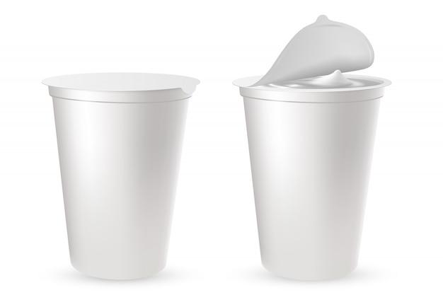Envases de plastico Vector Premium