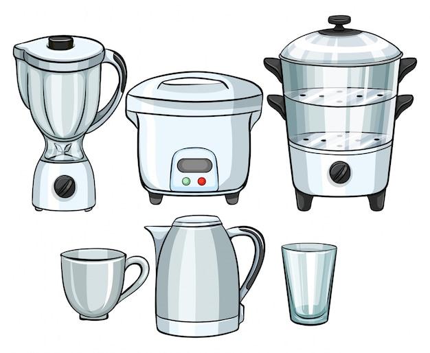 Equipo electr nico que utiliza en la ilustraci n de la for Equipo mayor de cocina pdf
