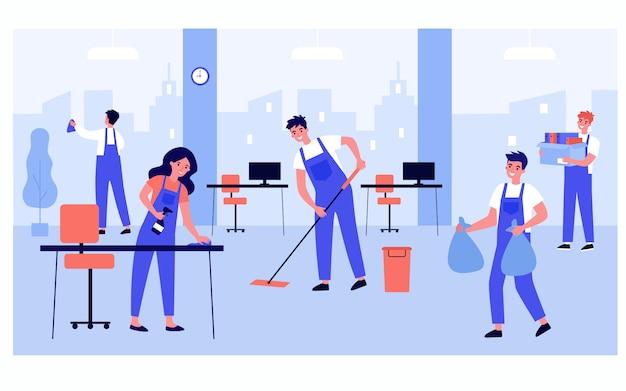 cronograma de limpieza de oficinas