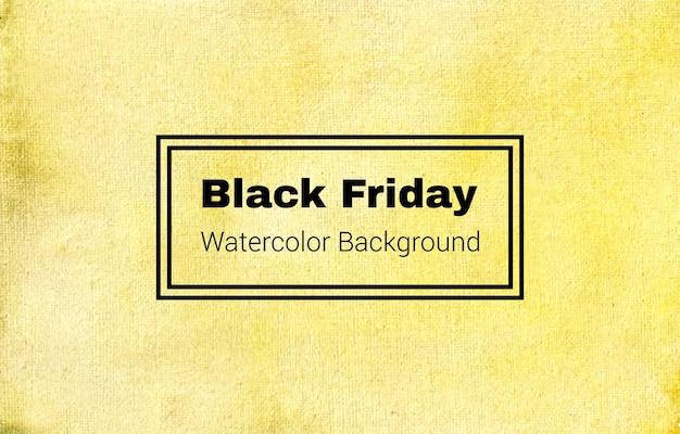 Este es un diseño de textura de fondo de acuarela abstracta de black friday #blackfriday Vector Premium