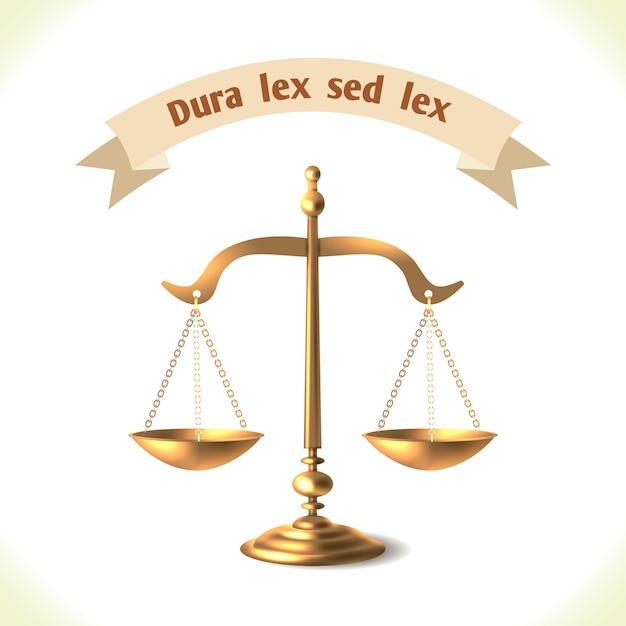 Escala judicial Vector Premium