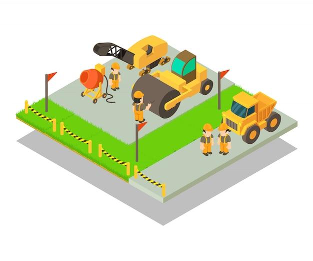 Escena del concepto de realización Vector Premium
