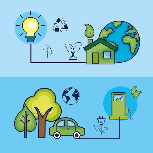 Establecer La Ecología Para El Cuidado Del Medio Ambiente