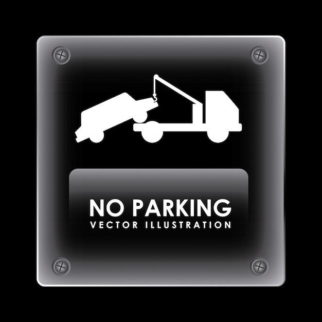 Estacionamiento vector gratuito