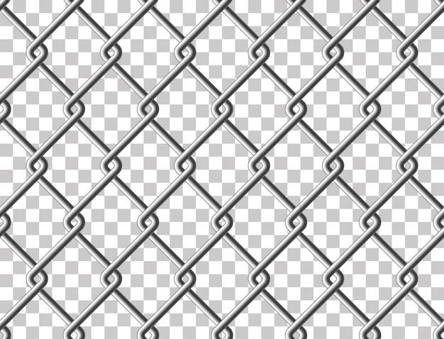 Estructura Transparente De Malla Metálica De Acero