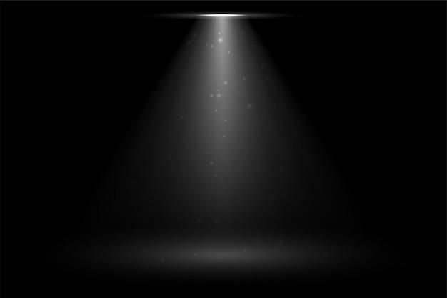 Etapa foco sportlight cayendo vector gratuito