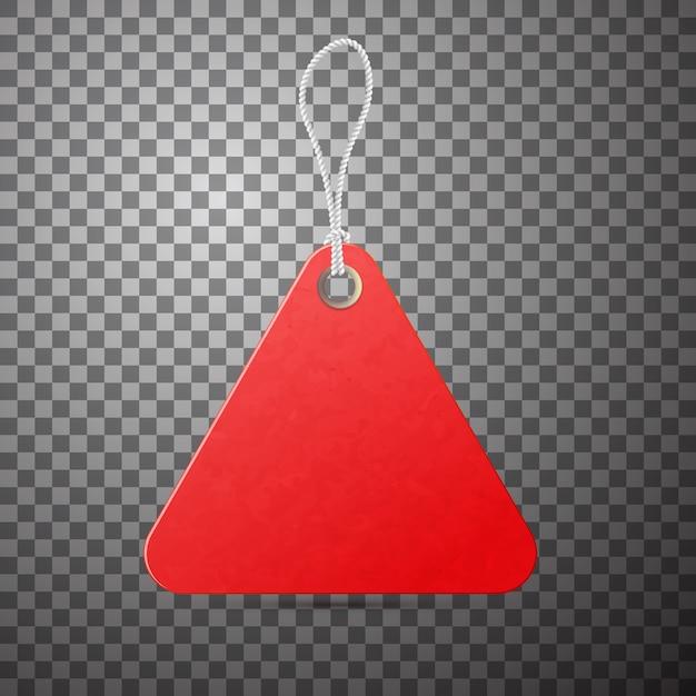 Etiqueta roja. promoción de venta, oferta de bajo precio. Vector Premium