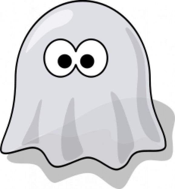 fantasma de dibujos animados | Descargar Vectores gratis