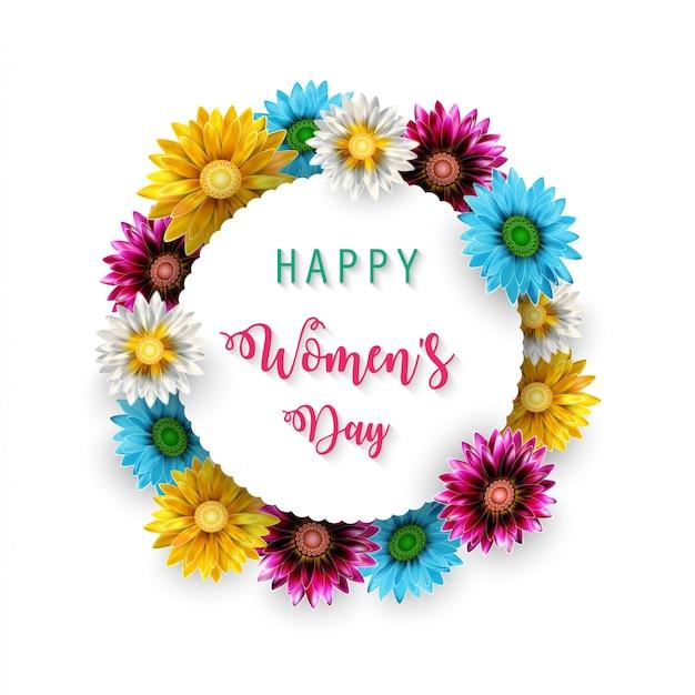Feliz día de la madre Vector Premium