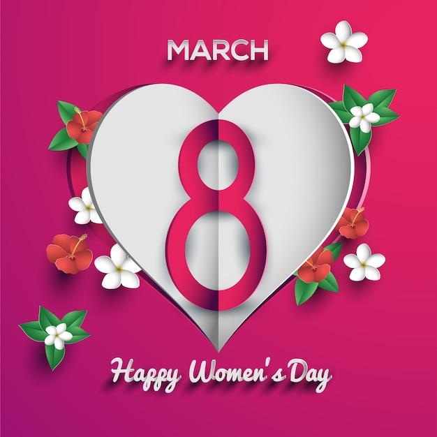 Feliz Dia De La Mujer 8 De Marzo Vector Premium Mis mejores deseos para el 8 de en tu día quiero agradecerte por todo el amor y apoyo que me brindas. https www freepik es profile preagreement getstarted 1849639