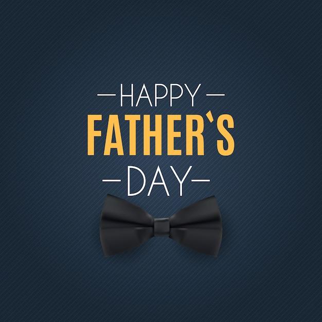 Feliz día del padre de fondo. mejor ilustración de papá Vector Premium