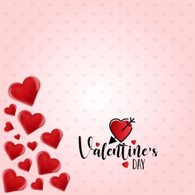Feliz dia de san valentin vector vector gratuito