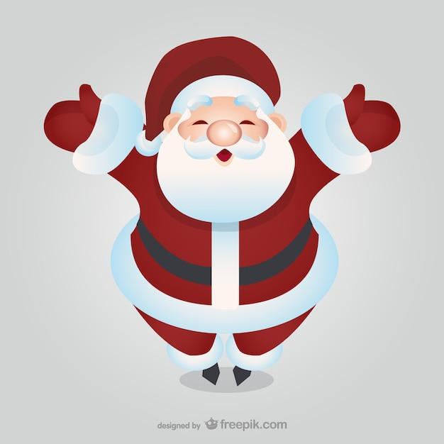 Imagenes De Papa Noel Animado.Feliz De Dibujos Animados De Santa Claus Descargar
