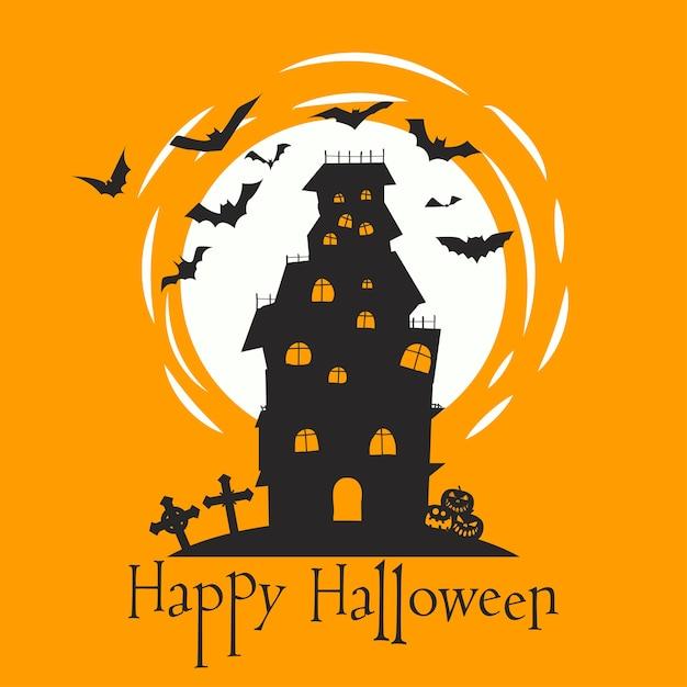 Feliz Halloween Letras Para La Tarjeta De Invitación Del