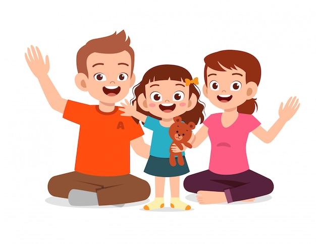 Dibujos Animados De Familias Vectores Fotos De Stock Y Psd Gratis