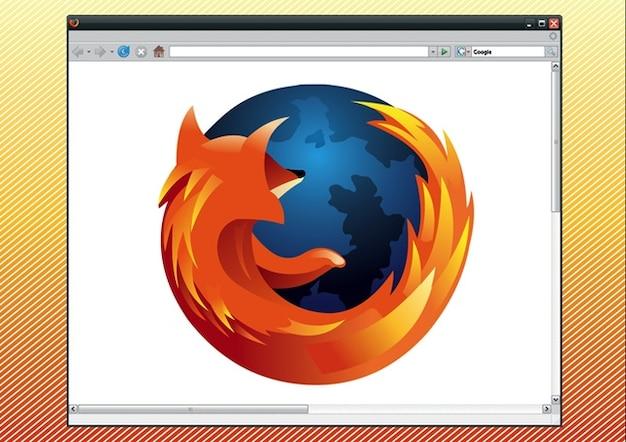 firefox gráficos logotipo del navegador Vector Gratis