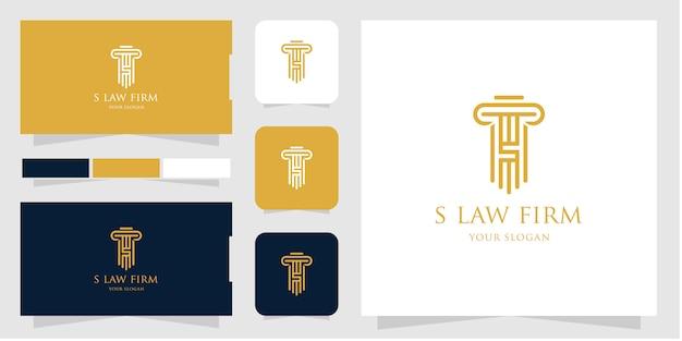 Firma de abogados Vector Premium