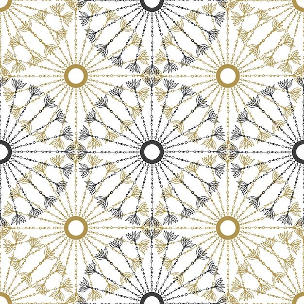 Sin fisuras patrón geométrico de la vendimia. vector negro y textura ...