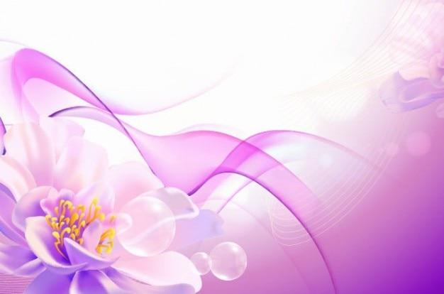 flores de color rosa de fondo de arte vectorial   Descargar ...