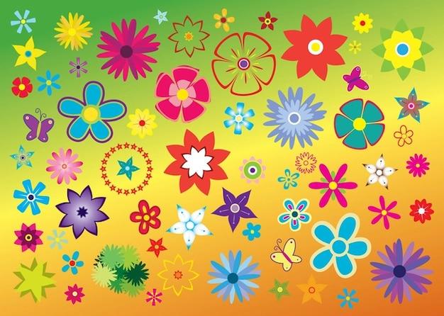 Flores Vector Libre Clipart Descargar Vectores Gratis
