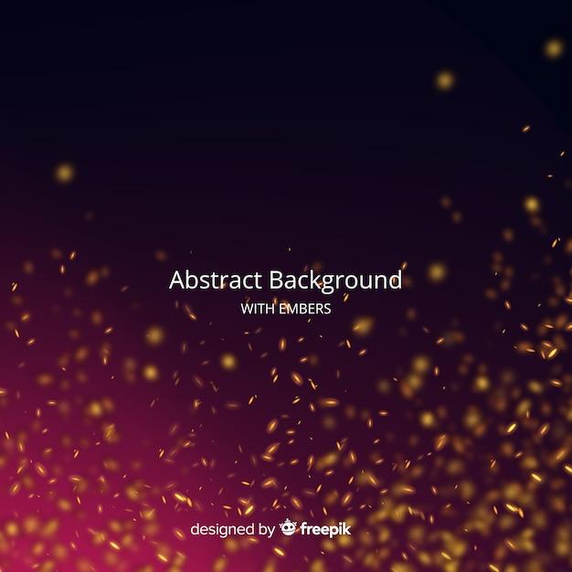 Fondo abstracto con ascuas vector gratuito