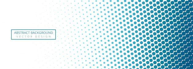 Fondo abstracto azul y blanco de la bandera punteada vector gratuito