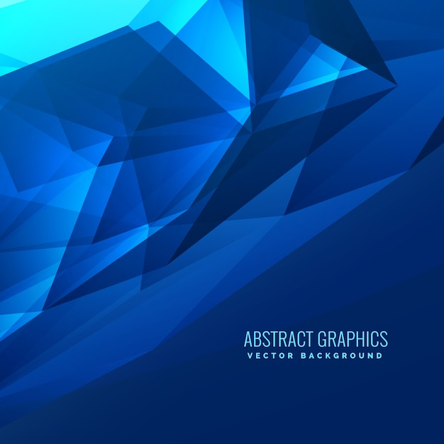 Science background Abstract triangle pattern Vector