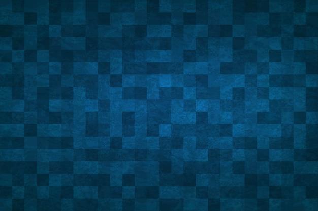 Fondo abstracto azul Vector Premium