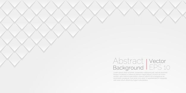 Fondo abstracto blanco Vector Premium
