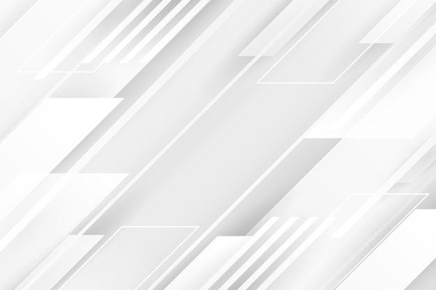 Fondo abstracto blanco vector gratuito