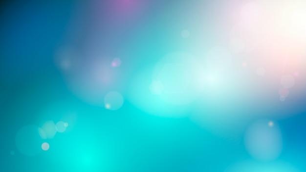 Fondo abstracto del cielo. fondo colorido suave borroso. ilustración Vector Premium