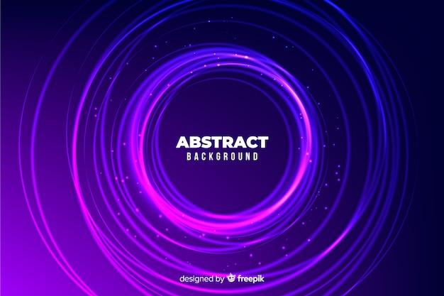 Fondo abstracto círculos coloridos vector gratuito