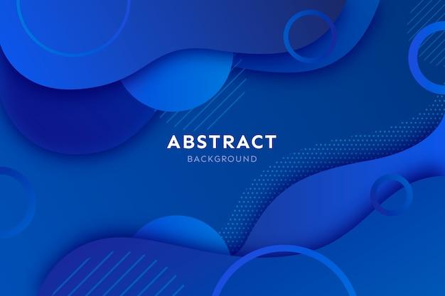 Fondo abstracto clásico azul vector gratuito