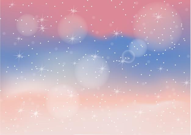 Fondo abstracto de color pastel con bokeh Vector Premium