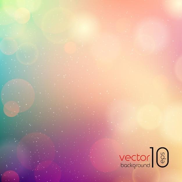 Fondo abstracto de color suave Vector Premium