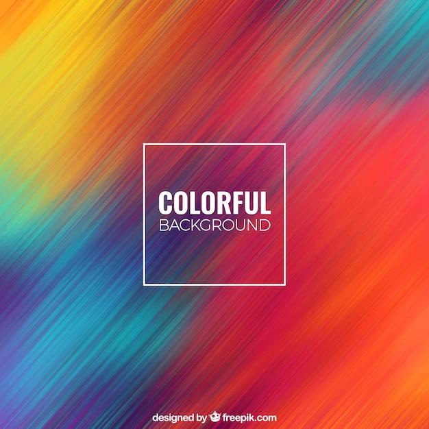 Fondo abstracto colorido Vector Gratis