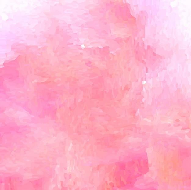 Fondo Abstracto Con Art 237 Stica Textura De Acuarela Rosa