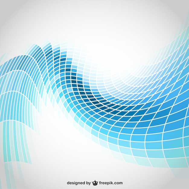 Fondo abstracto con formas geométricas Vector Gratis