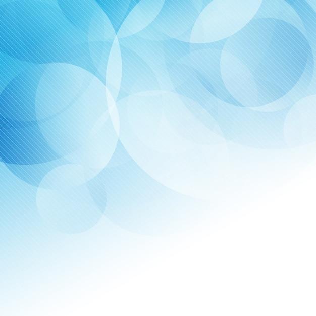 Fondo abstracto con diseño de círculo vector gratuito