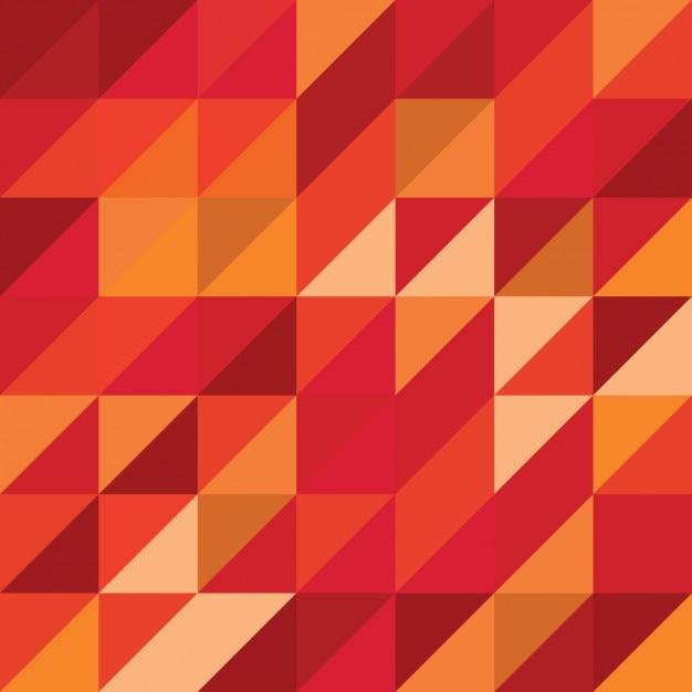 Fondo abstracto en colores cálidos | Descargar Vectores gratis