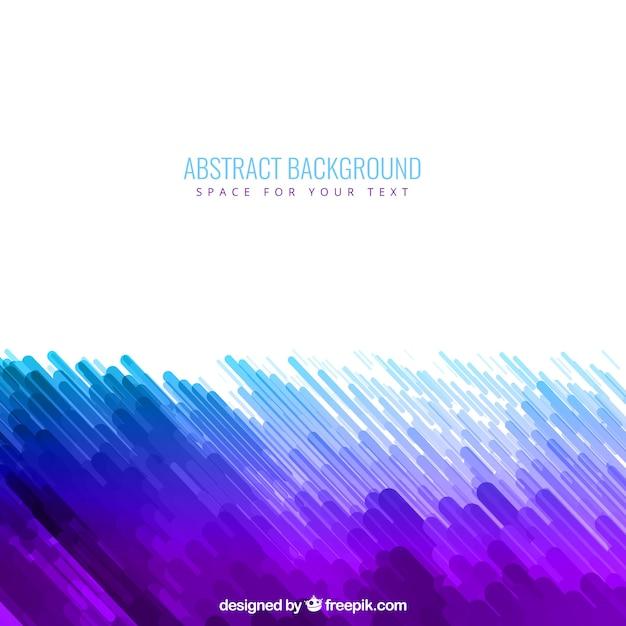 Fondo abstracto en tonos morados y azules | Descargar Vectores gratis